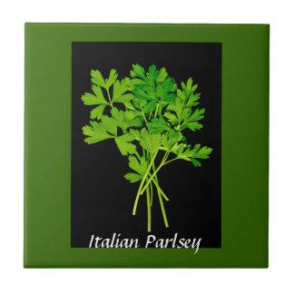 herbs - parsley tile