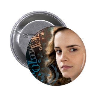 Hermione Granger 6 Cm Round Badge