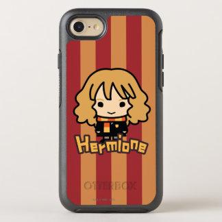 Hermione Granger Cartoon Character Art OtterBox Symmetry iPhone 7 Case