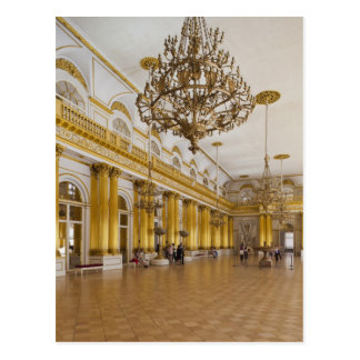 Hermitage Museum, Room 191, The Great Hall Postcard