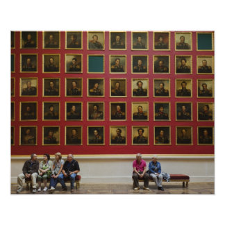 Hermitage Museum, Room 197, The 1812 War Gallery Poster