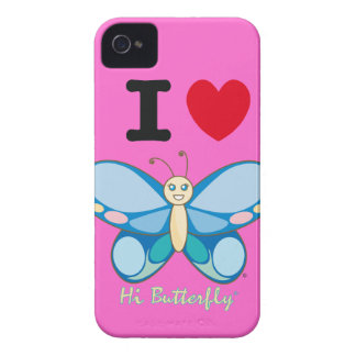 Hi Butterfly® BlackBerry Bold Case-Mate iPhone 4 Covers