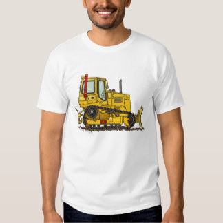 High Drive Bulldozer Dirt Mover Construction Appar Tshirts