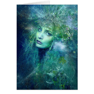 High Priestess of Water Greeting Card