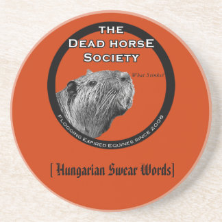 highres_6541465, [ Hungarian Swear Words] Beverage Coaster