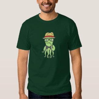 Hipster Octopus Tee Shirt