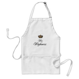His Highness (part of his and hers set) Standard Apron