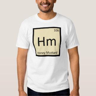Hm - Honey Mustard Chemistry Periodic Table Symbol T-shirts