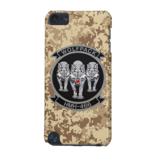 """HMH-466 """"Wolfpack"""" Marine Camo iPod Touch 5G Cover"""