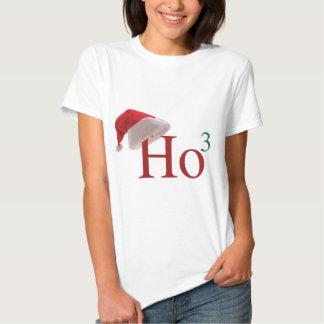 Ho Ho Ho 3 Merry Christmas to the 3rd power Tshirts