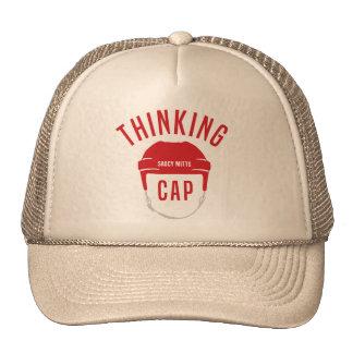 Hockey Helmet Thinking Cap Lid