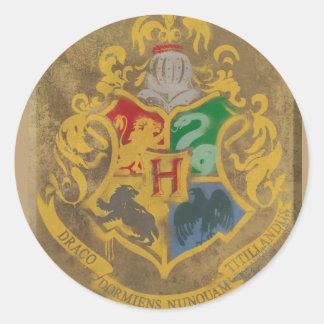 Hogwarts Crest HPE6 Round Sticker