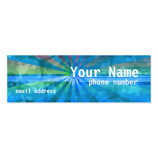 Holiday Sunshine Profile Card Pack Of Skinny Business Cards