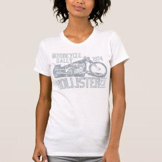 Hollister Motorcycle Rally (vintage slate) T Shirt