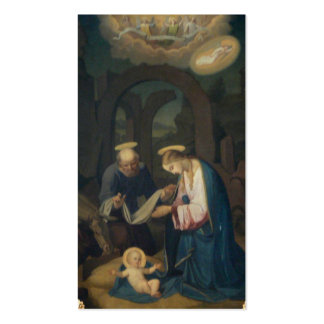 Holy Cards (Scripture):  Birth of Christ Pack Of Standard Business Cards