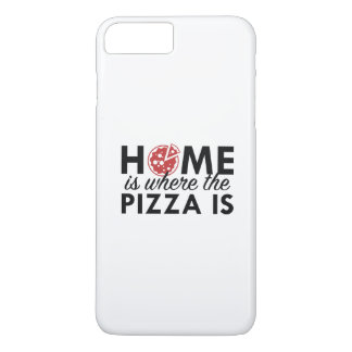 Home Is Where The Pizza Is iPhone 7 Plus Case