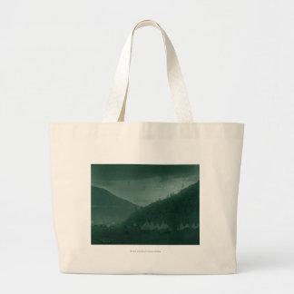Home of the Mountain Crow Jumbo Tote Bag