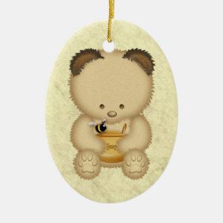 Honey Bear Personalized Ornament