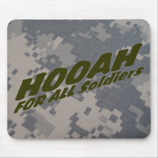 Hooah For all Soldiers Mouse Pad