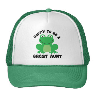 Hoppy To Be A Great Aunt Gift Cap
