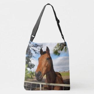 Horse_Delights,_Full_Print_Lge_Cross_Body_Bag Tote Bag