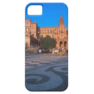 Horse drawn carriage in the Plaza de Espana in Barely There iPhone 5 Case