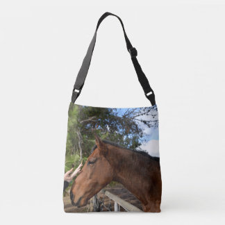 Horse_Pat,_Full_Print_Medium_Cross_Body_Bag Tote Bag