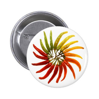 Hot Chili Peppers 6 Cm Round Badge