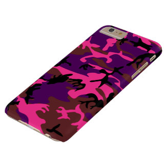 Hot Pink Camo Barely There iPhone 6 Plus Case