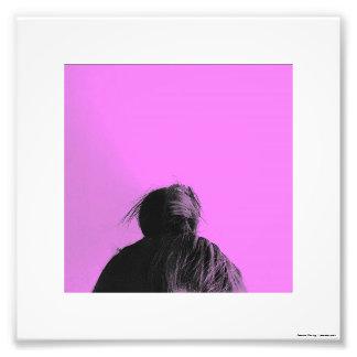 Hot Pink High Bun Original Toronto Photograph