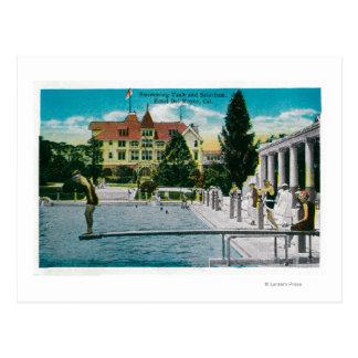 Hotel Del Monte Swimming Tank and Solarium Postcard