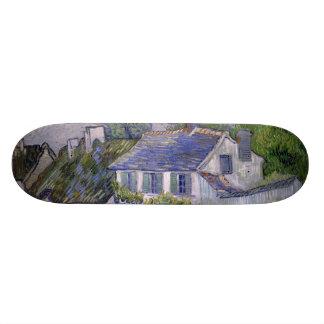 Houses at Auvers by Vincent Van Gogh 20 Cm Skateboard Deck