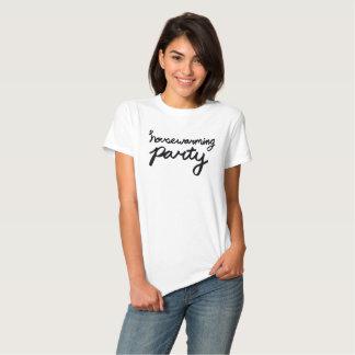 HOUSEWARMING PARTY Logo T - Womens Tee Shirt