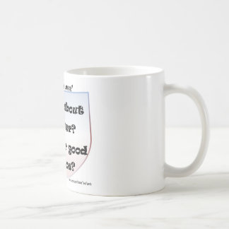 How About Never? Is Never Good For You? Basic White Mug