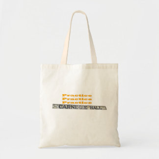 How Do You Get To Carnegie Hall Budget Tote Bag