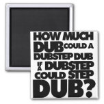 How Much Dubstep? Square Magnet