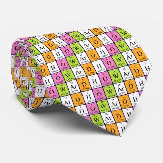 Howard periodic table name tie