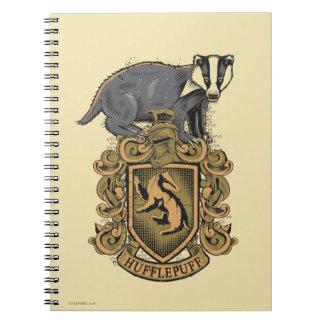HUFFLEPUFF™ Crest Note Book