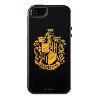 Hufflepuff Crest - Splattered OtterBox iPhone 5/5s/SE Case