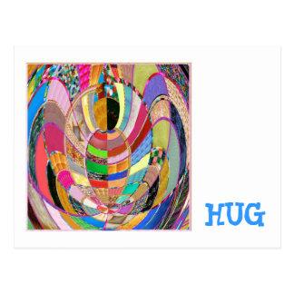 HUG   -  an artistic presentation Postcard
