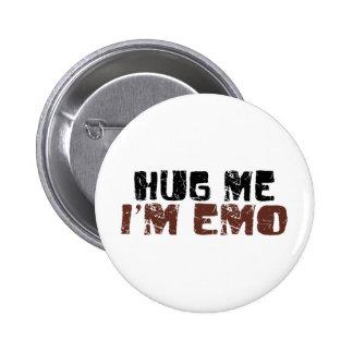 Hug Me I'M Emo 6 Cm Round Badge