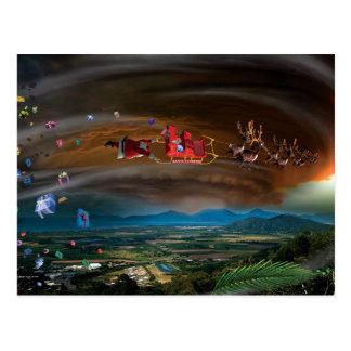 Humorous Post Cards of Santa's Pilgrimage