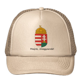 Hungarian national crest cap