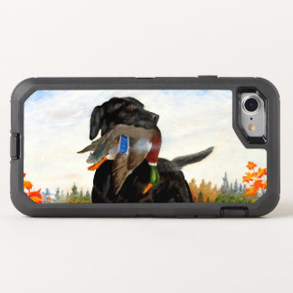 Hunting Dog Painting iPhone 7 Case