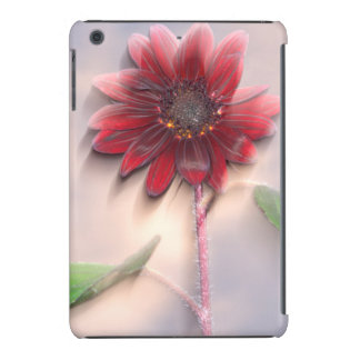 Hybrid sunflower blowing in the wind iPad mini case