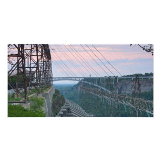 Hydropower Station on Niagara River in Canada Personalised Photo Card