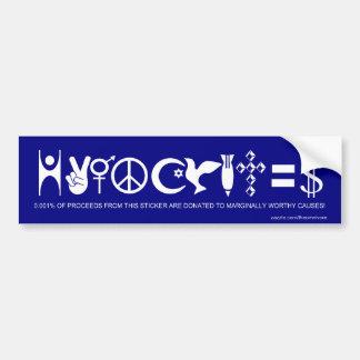 Hypocrites-The Bumper Sticker
