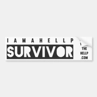 I am a HELLP Survivor Bumper Sticker
