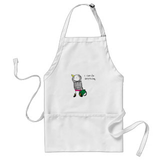 I can do anything. standard apron