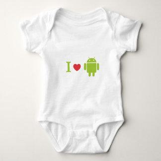 I heart Android T Shirt